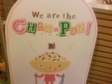 We are the CHAM-PON.