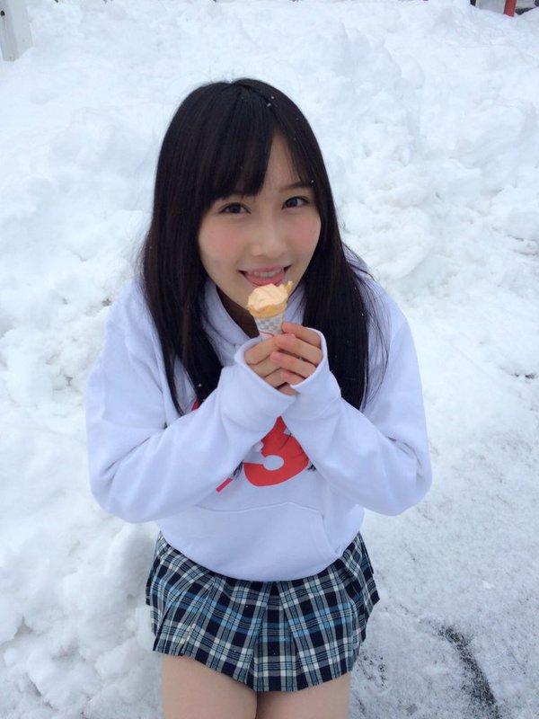 矢倉楓子 アイス
