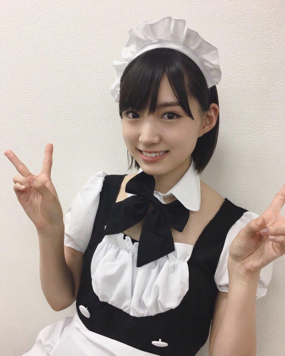 太田夢莉のメイド画像