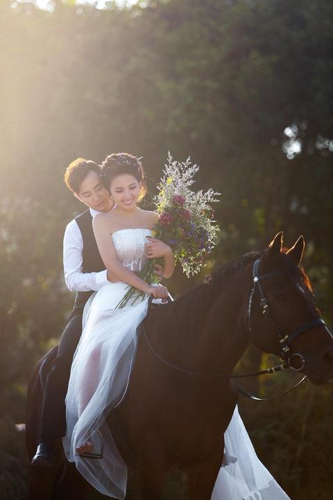 中西結合的婚禮程序