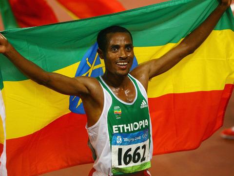 Athlet-Kenenisa-Bekele