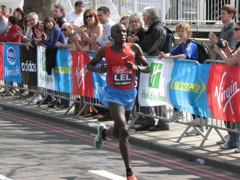 Martin_Lel,_London_Marathon_2011