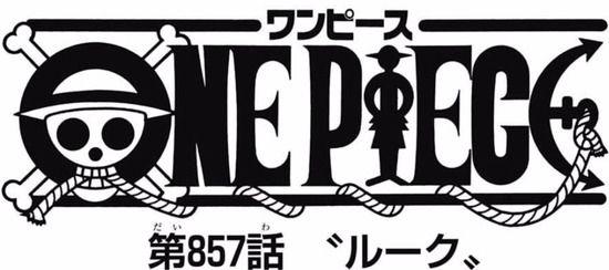 【ワンピース】ネタバレ 857話 あれ?最近のワンピ地味に面白くね?www