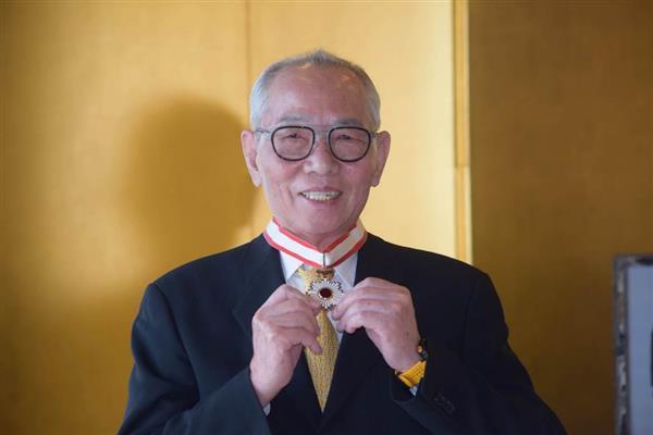 「日本には大恩がある」台湾の世界的自転車メーカー「ジャイアント」創業者の劉金標氏に旭日中綬章