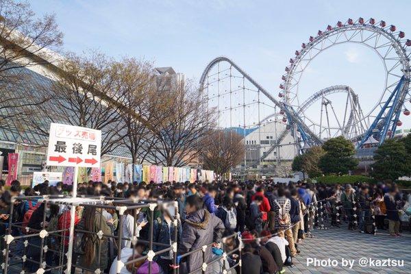 【画像】ラブライバー、早くも東京ドームに5000人集結してる模様
