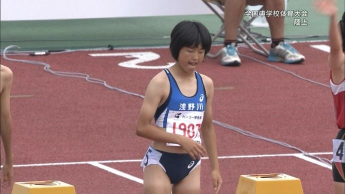 【画像】女子陸上部・100mハードルのユニフォームwwwwwwww