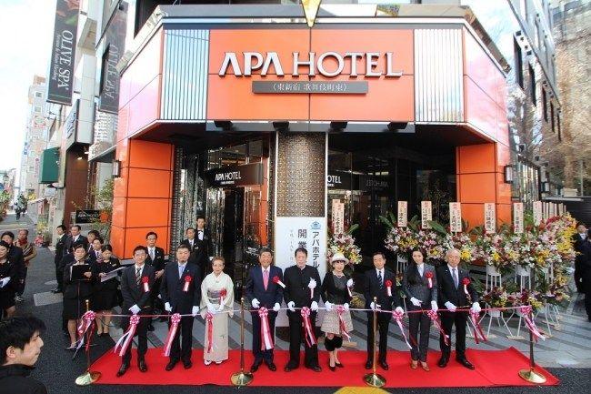 アパホテル元谷代表「1月も、2月も稼働は好調で過去最高の業績」「大陸からの予約は激減したが香港や台湾からの顧客が増えている」