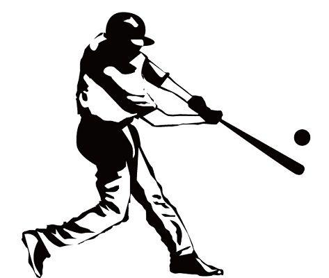 野球フリー画像バッター