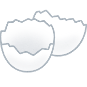 gomi_egg_kara