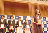 11名を代表し、大活躍の上村選手が挨拶
