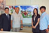 水野JOC副会長と三浦さん親子、上村選手…超レアショット