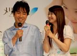 シャンプー『メリット』のCMキャラクターを務める藤井隆・乙葉夫妻