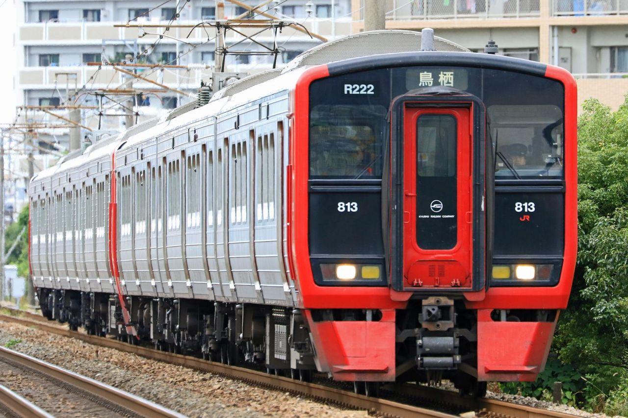 JR九州 813系200番台Rm222+100番台Rm112編成