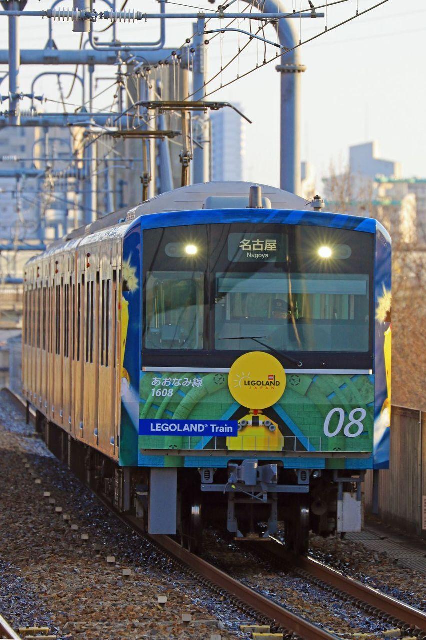 名古屋臨海高速鉄道 1000形第8編成「レゴランド・トレイン」ラッピング編成