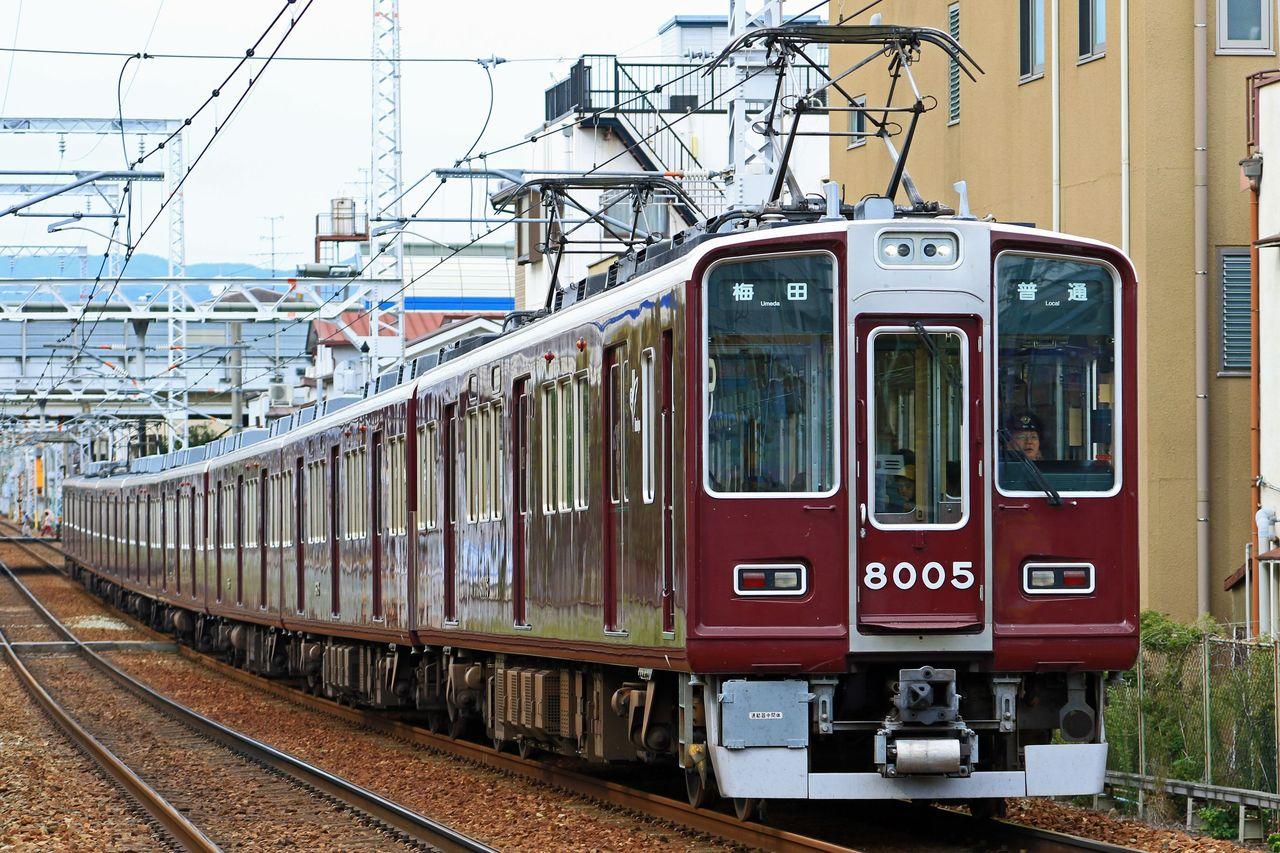 阪急電鉄 8000系8005F