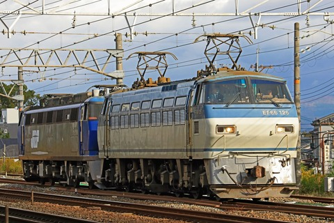 JR貨物 EF200-2号機「さようなら」 EF66-126号機牽引
