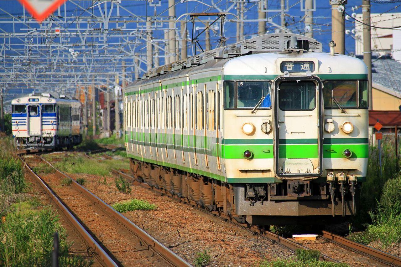 JR東日本 115系L5編成 新潟二次色