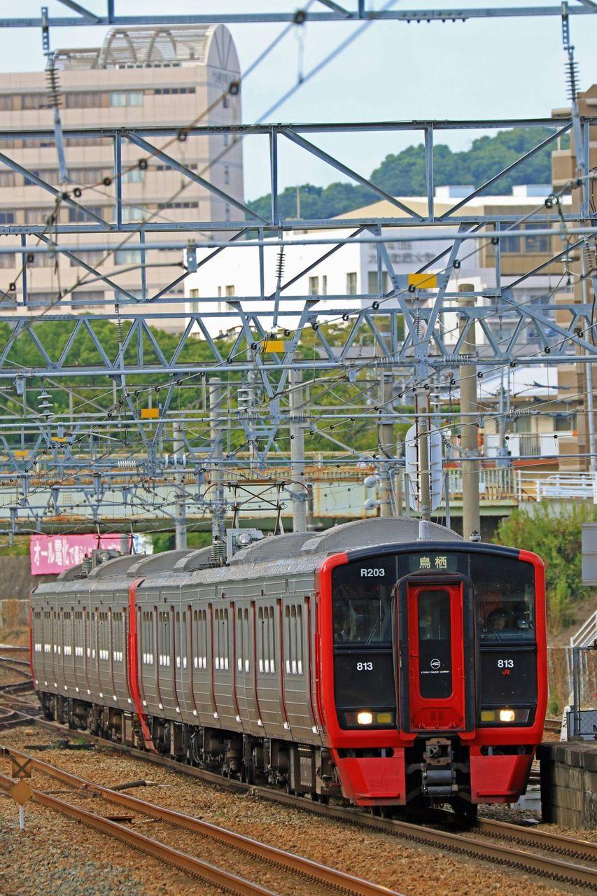 JR九州 813系200番台Rm203編成+100番台Rm104編成
