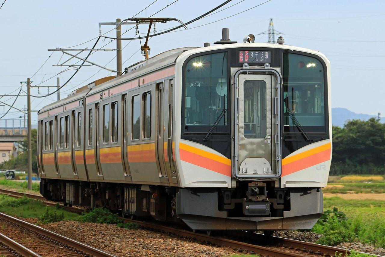 JR東日本 E129系100番台A14編成