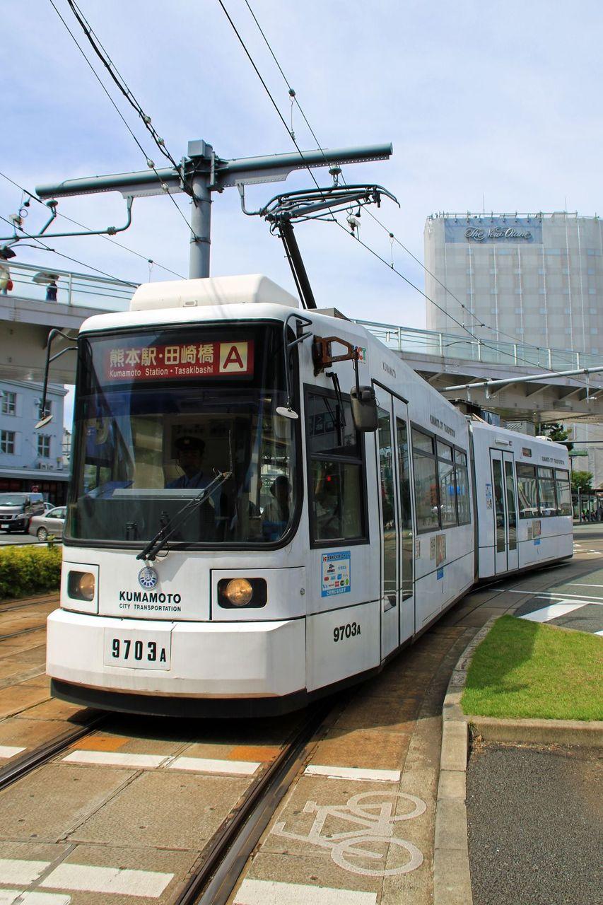 熊本市交通局 9700形9703AB