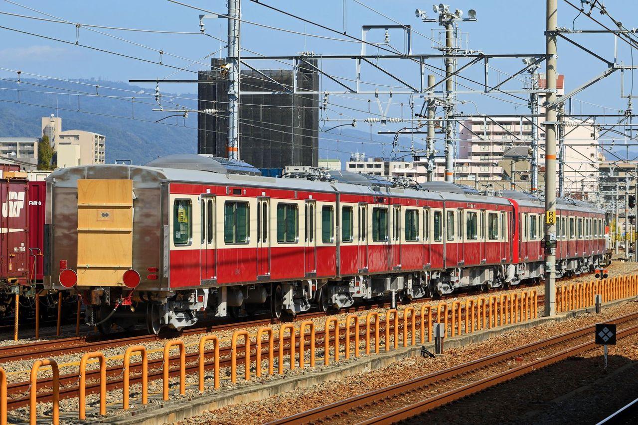 京浜急行電鉄 N1000形1601編成 甲種輸送