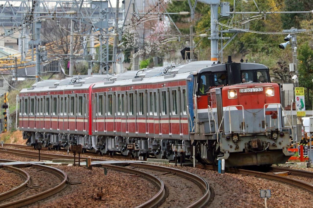 京浜急行電鉄 新1000系1361編成 甲種輸送