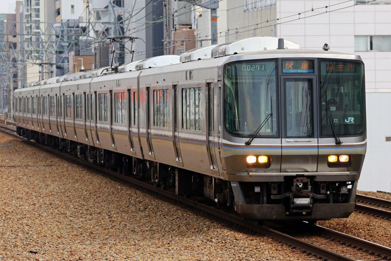 JR西日本 223系2000番台J11編成