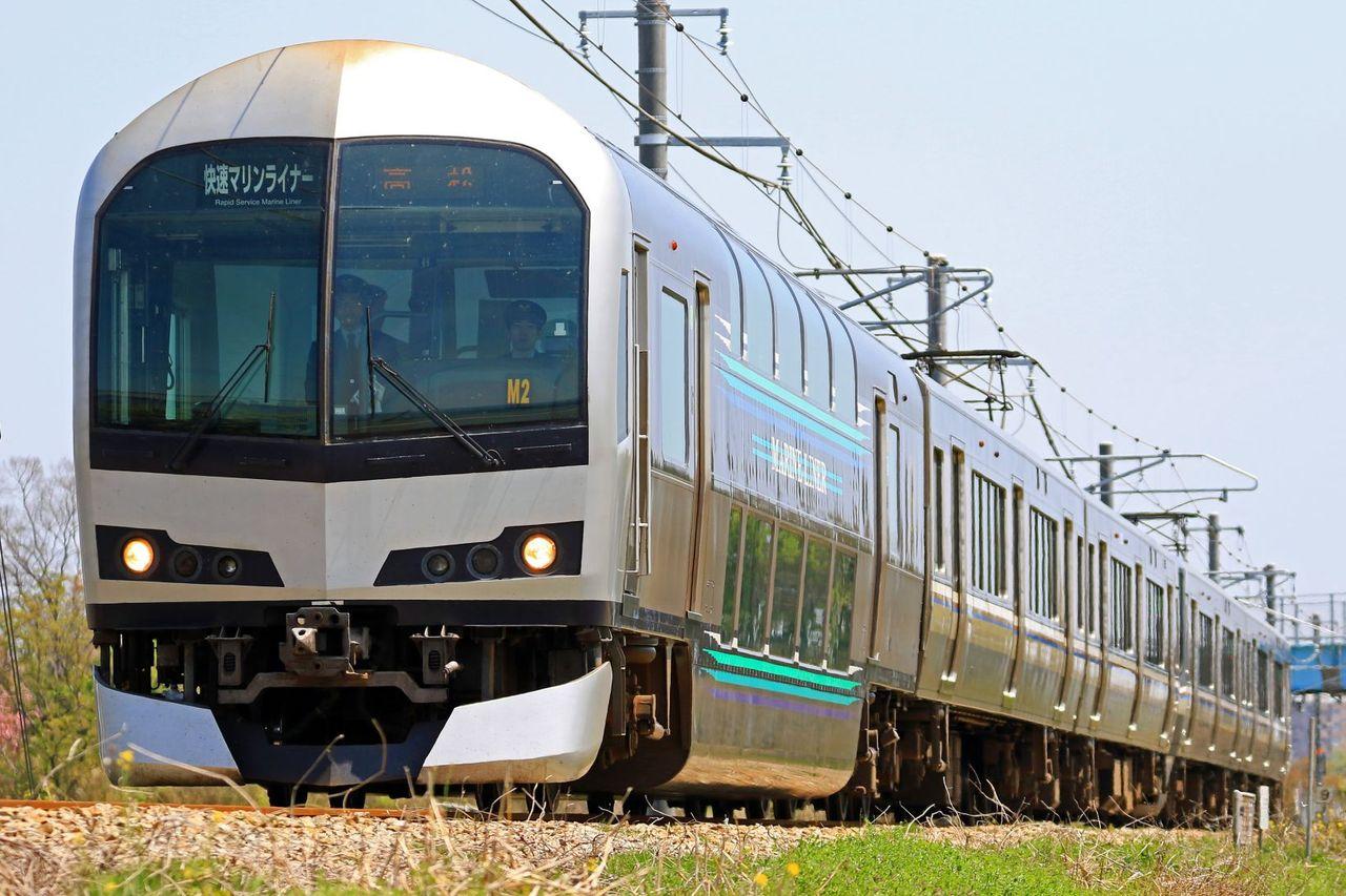JR四国 5000系M2+JR西日本 223系5000番台P7編成 「マリンライナー」