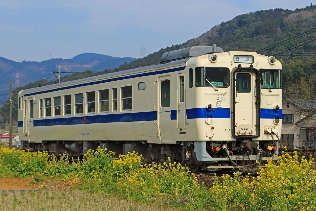 JR九州 キハ40-8126
