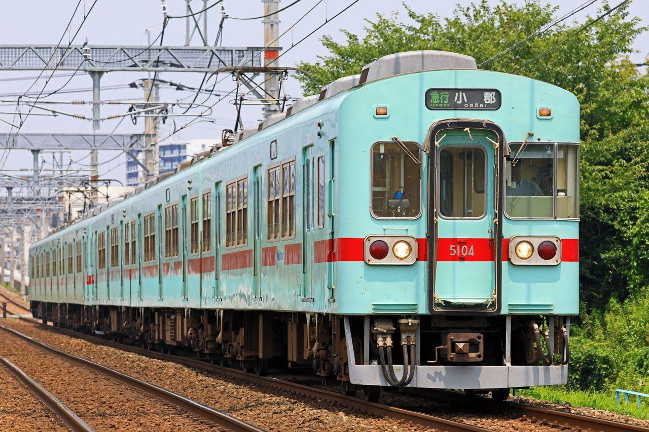 西日本鉄道 5000形5104F+5129F