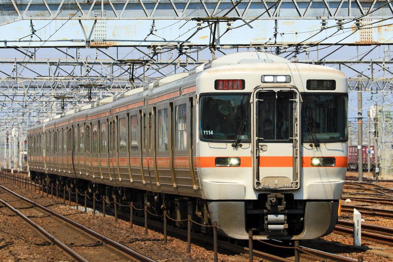 JR東海 313系5000番台Y114+313系5300番台Z5編成