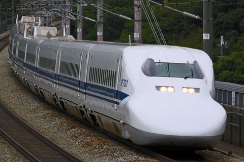JR西日本 700系新幹線 B7編成