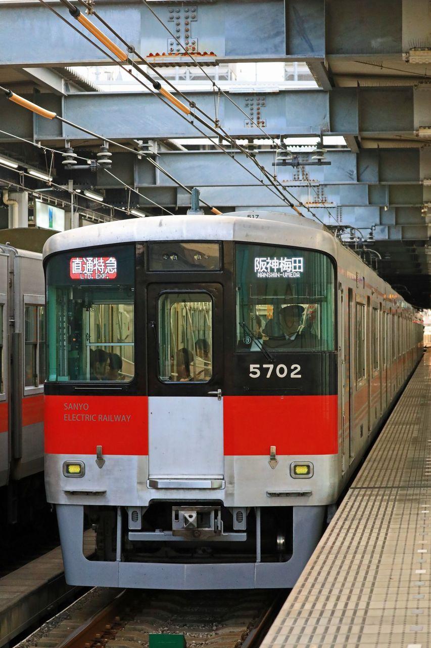 山陽電気鉄道 5000系5702F リニューアル編成