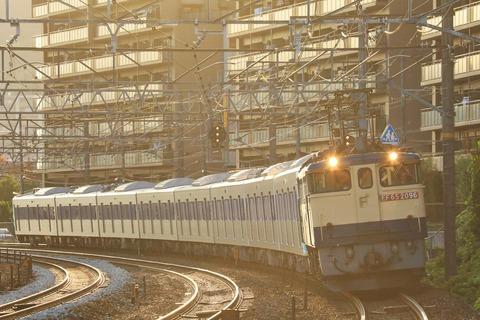 東京都交通局 6500形6501F 甲種輸送 JR貨物 EF65-2096号機牽引