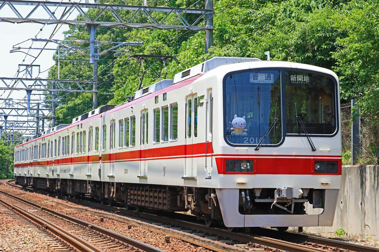 神戸電鉄 2000系2009F