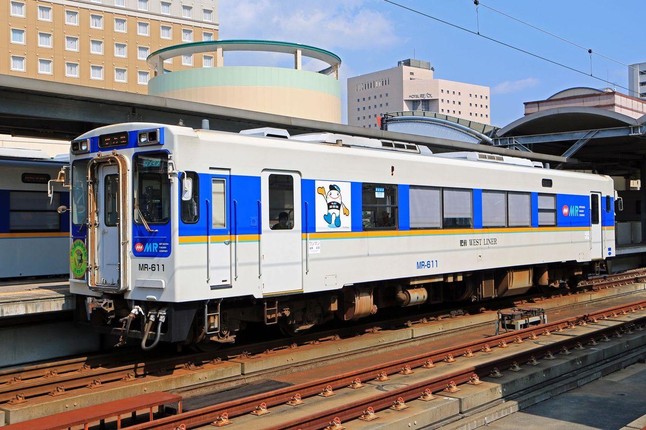 松浦鉄道 MR600形MR-611