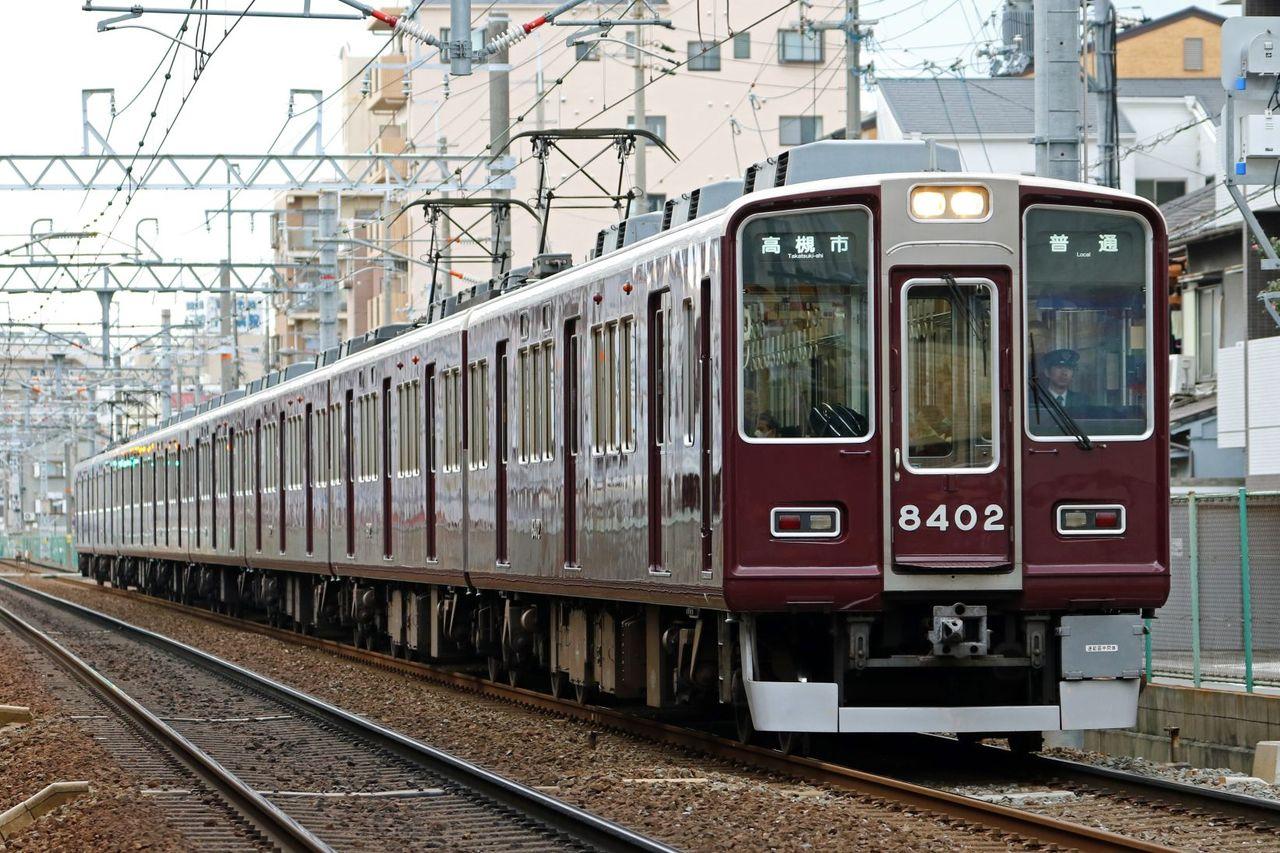 阪急電鉄 8300系8302F