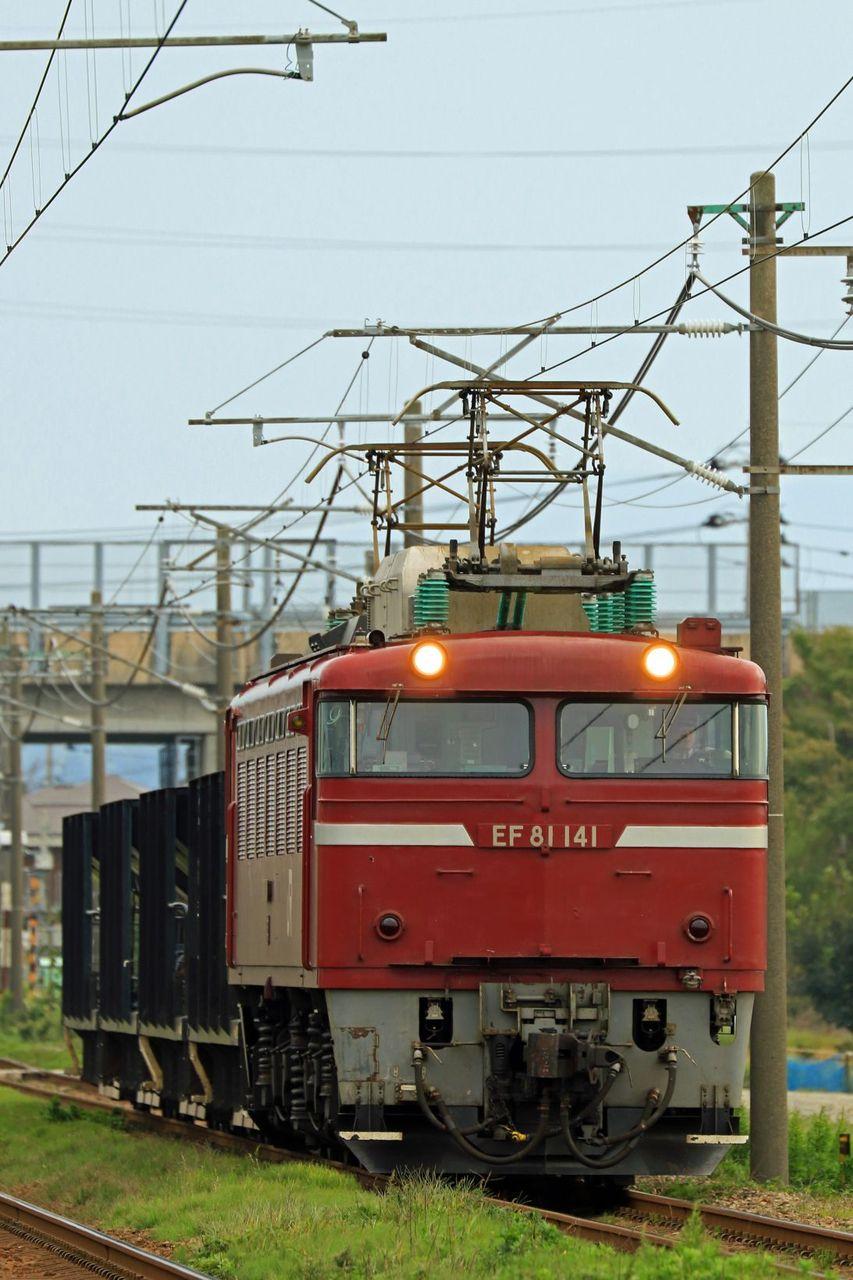 JR東日本 EF81-141号機 JR東日本標準色
