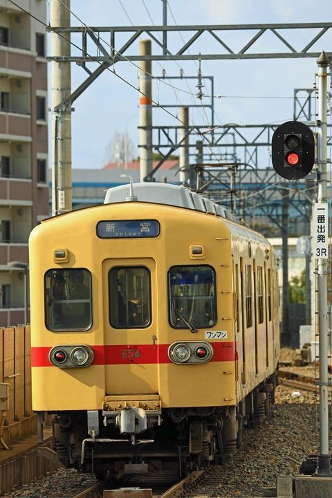 西日本鉄道 600形604F