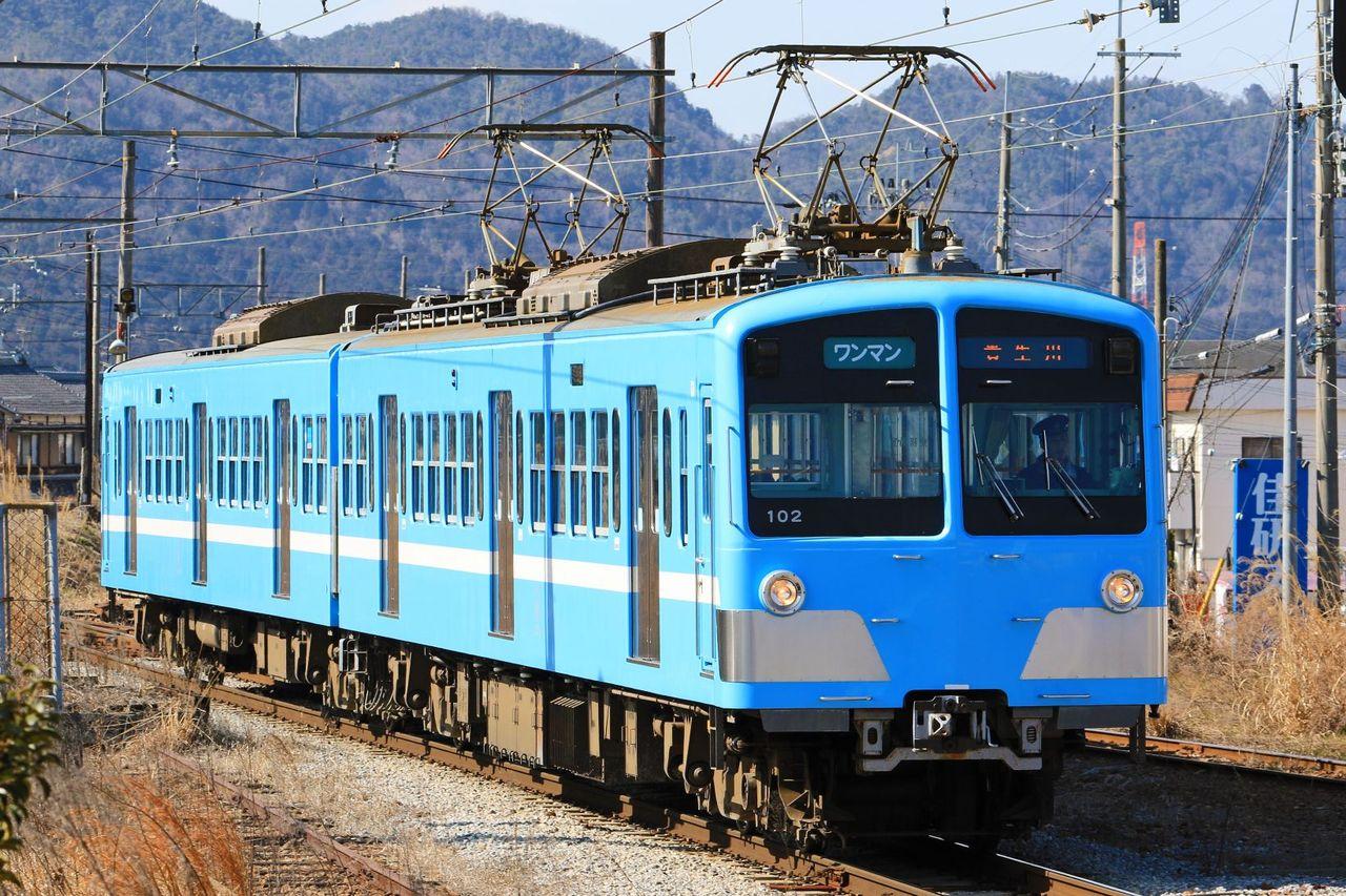 近江鉄道 100形102F