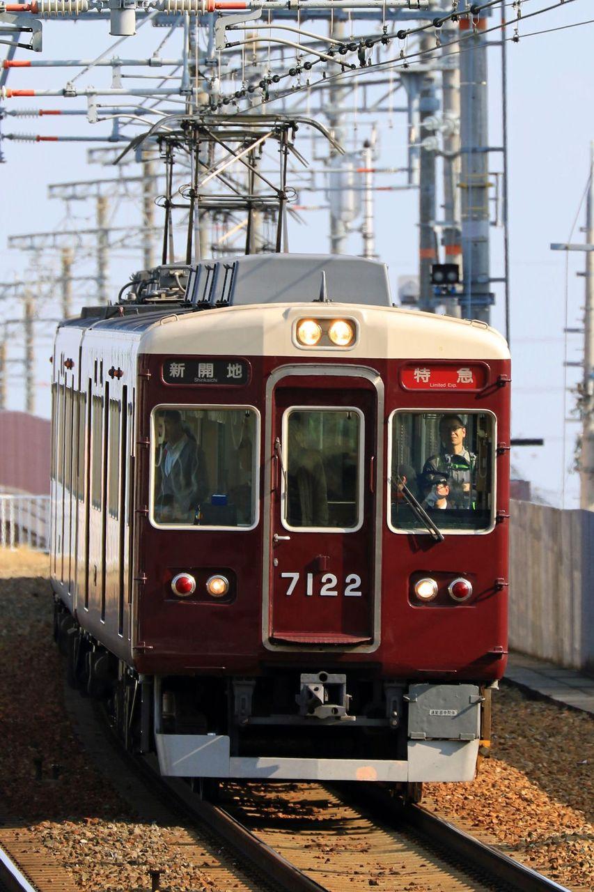 阪急電鉄 7000系7022F