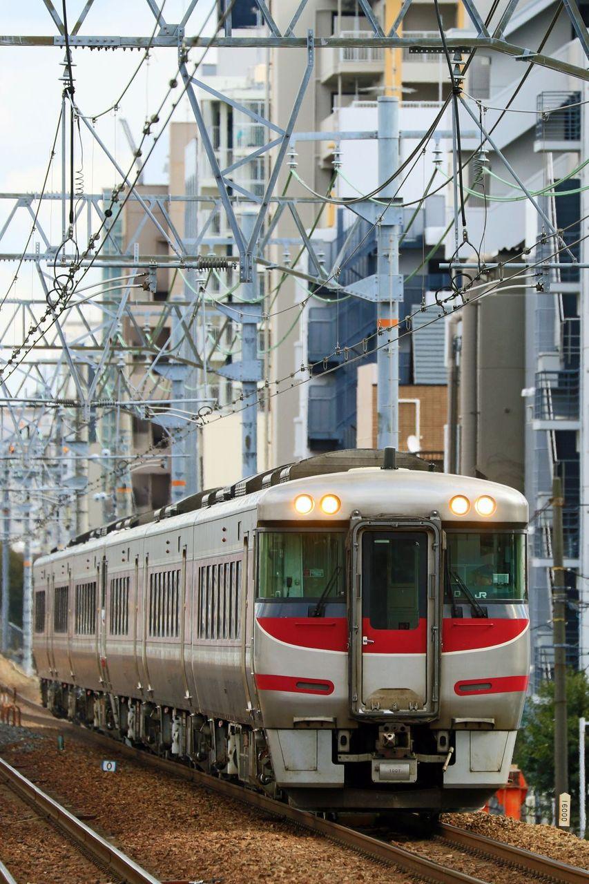 JR西日本 キハ189系H7+H2編成 「はまかぜ」