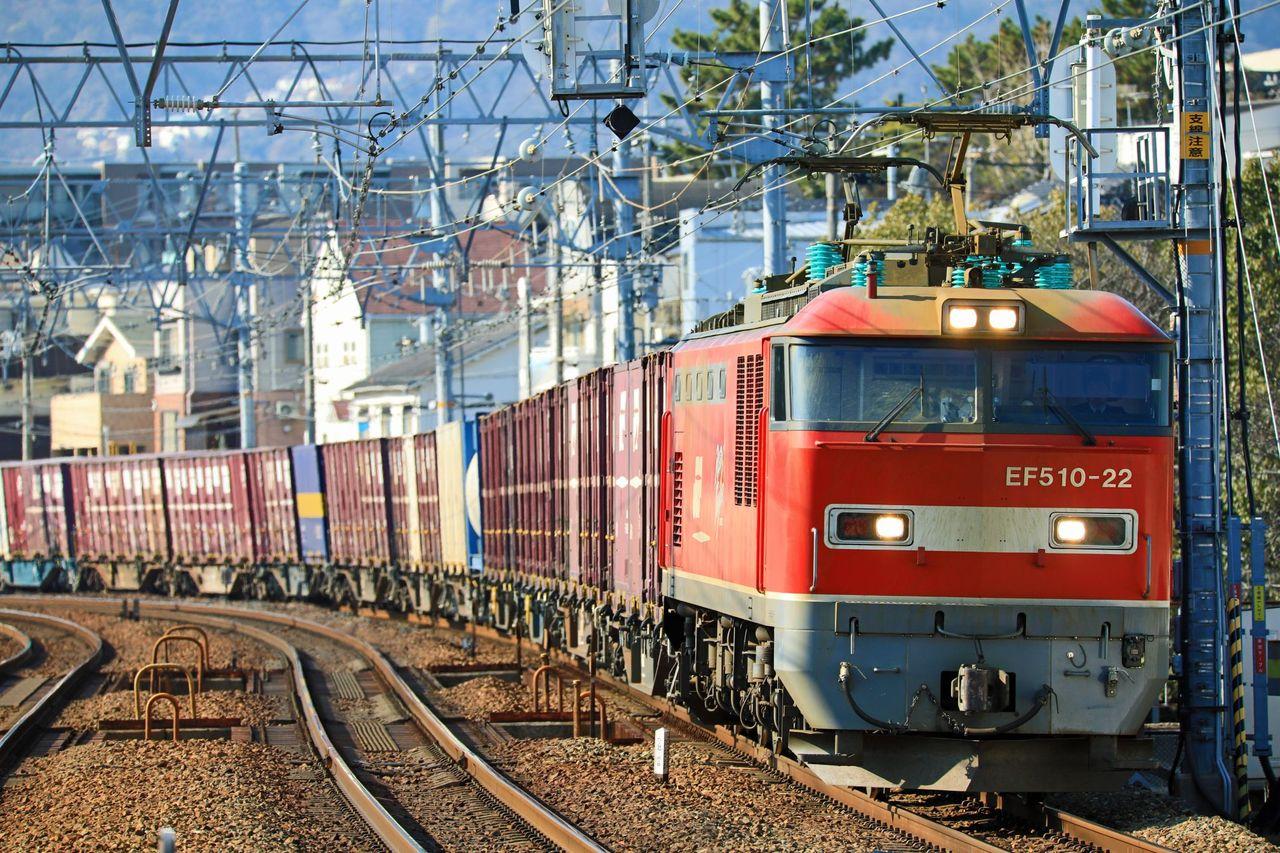 JR貨物 EF510-22号機