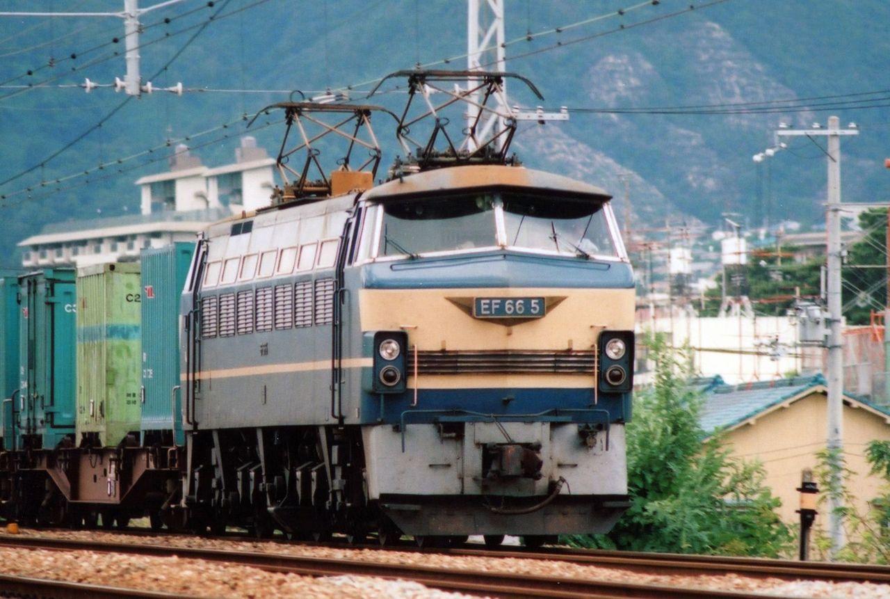 日本国有鉄道 EF66-5号機 国鉄色