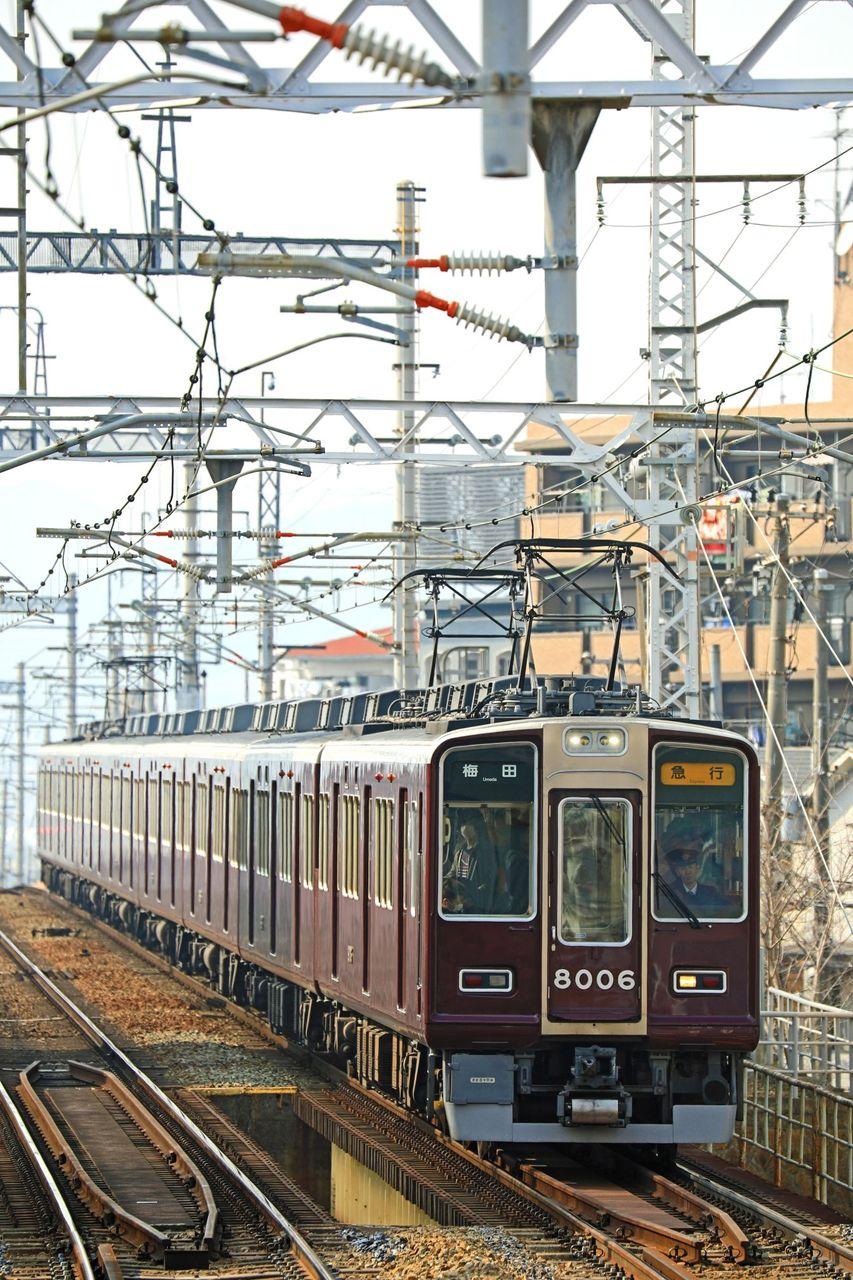 阪急電鉄 8000系8006F