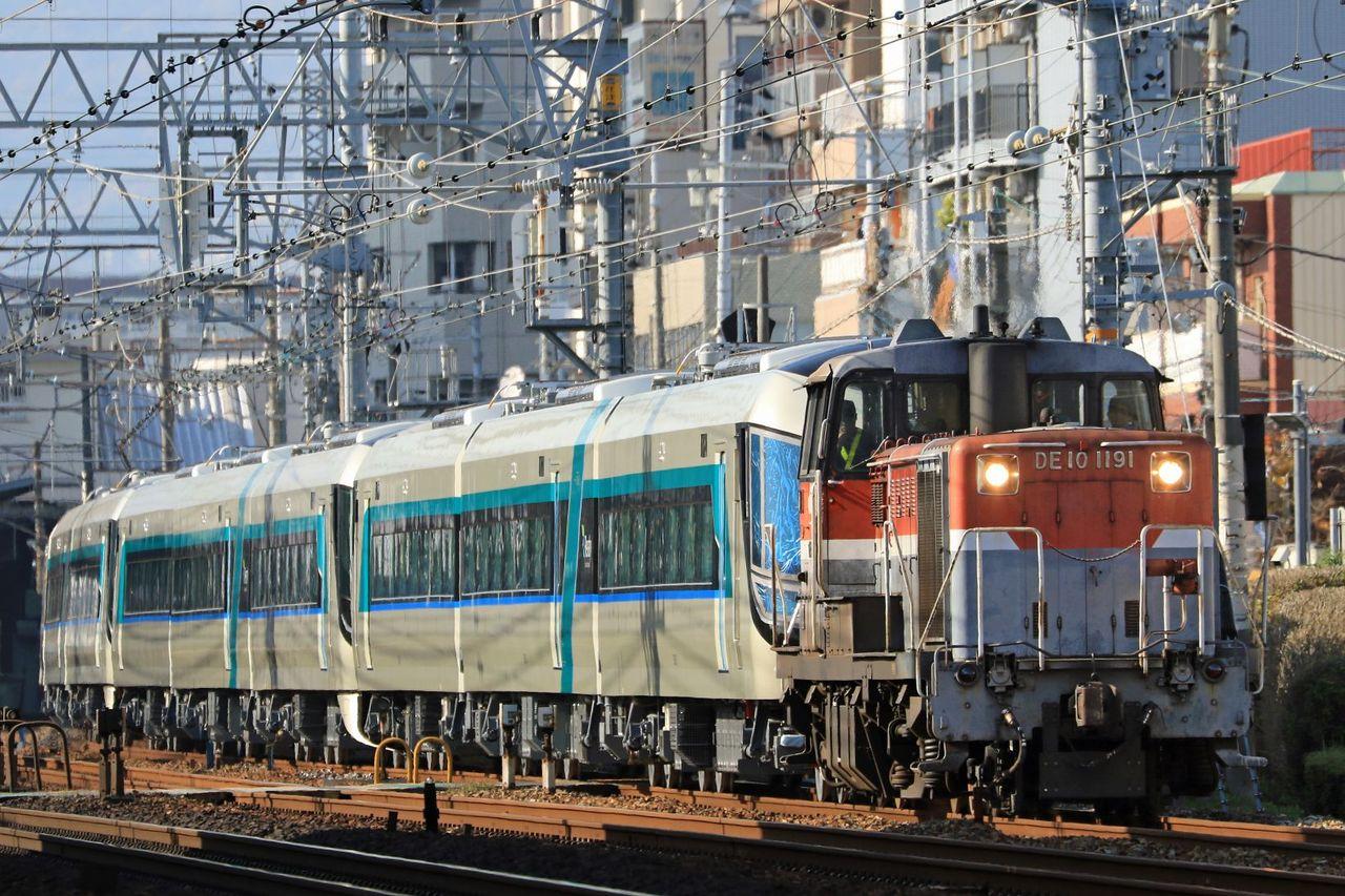 東武鉄道 500系新型特急車両「Revaty」 第1.2.3編成 甲種輸送
