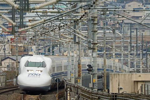JR東海 700系新幹線 C53編成 「ありがとう700系」ラッピング編成