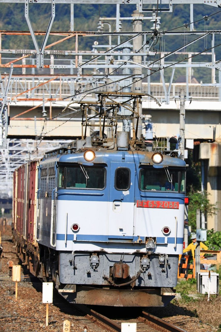 JR貨物 EF65-2086号機 二色更新色