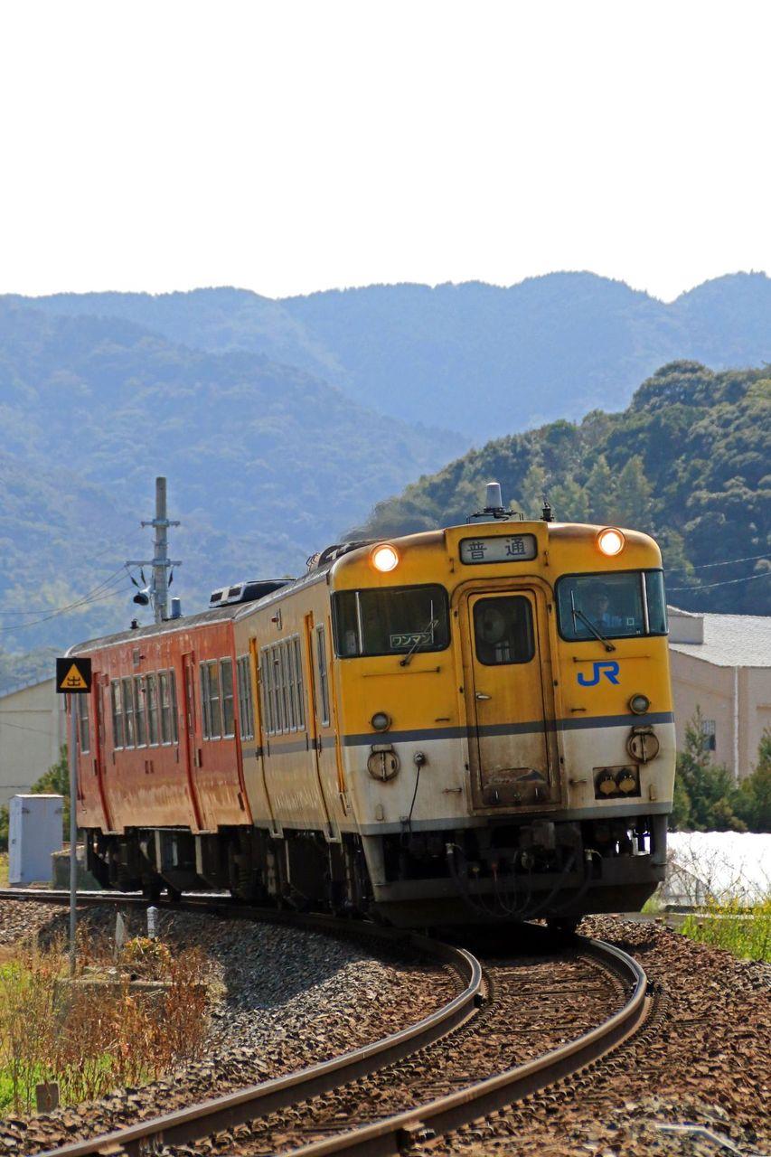 JR西日本 キハ47-1070+9(首都圏色+広島色)