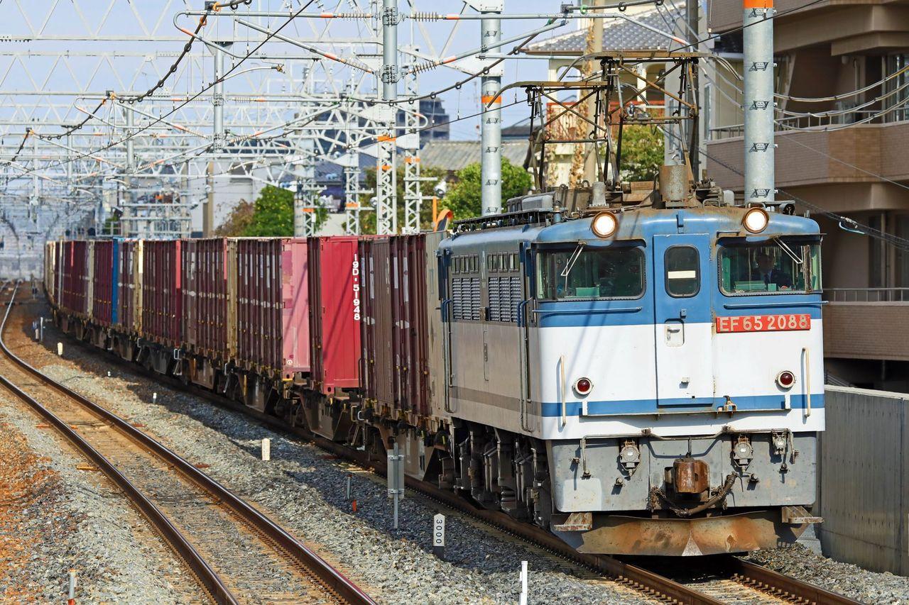 JR貨物 EF65-2088号機 二色更新色